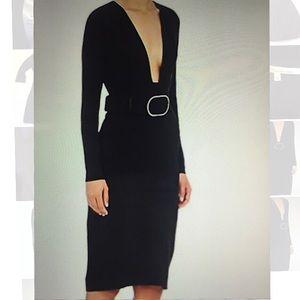 Stella McCartney Dresses - Stella McCartney Stretch Cady Fitted Dress